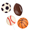 Sports Ball  Chocolate Lollipop Mold