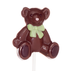 SALE!  Teddy Bear Lollipop Chocolate Mold