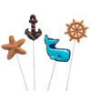 Nautical Chocolate Lollipop Mold
