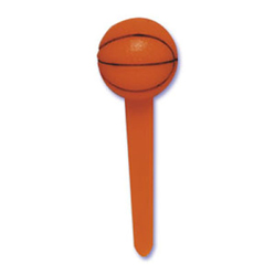 SALE!  Basketball Cupcake Picks, Set of 12