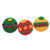 Icing Christmas Ornaments Small, Set of 12