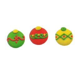 Christmas Ornaments Large Icing Decorations
