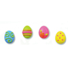 Icing Easter Egg Small Bright, Set of 18