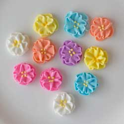 Flower Dainty Bess Minis Icing Decorations