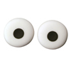 "Eyes Large (.5"") Icing Decorations"