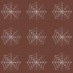 Spider Web Rounds Chocolate Transfer Sheet