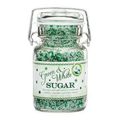 Green & White Sugar Mix