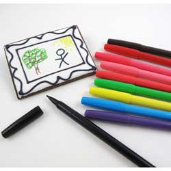 Food Color Markers, Set of 10 Colors