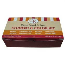 Paste Food Color Student Kit