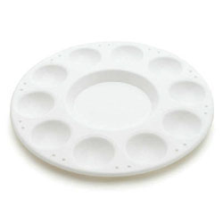 Round Paint Tray Palette