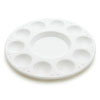 Round Paint Tray Palette, 10 cavity