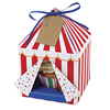 Toot Sweet Small Tent Cupcake Boxes, Set of 4