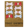 Toot Sweet Bow Cupcake Picks, Set of 12