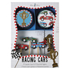 Cupcake Kit Race Cars Set of 24 Cupcake Liners Picks