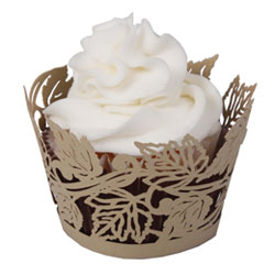 Autumn Leaves Cupcake Wrapper