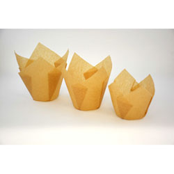 Natural Kraft Folded  Muffin Cup Set