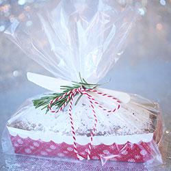 SALE!  Snowflake Holiday Loaf Pan Kit