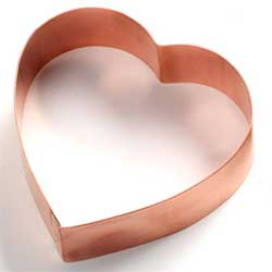 Pomegranate Heart Custom Copper Cutter