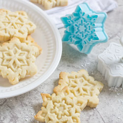 Cookie Stamp & Cutter Snowflakes Set