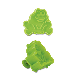 Frog Cookie Stamp & Cutter