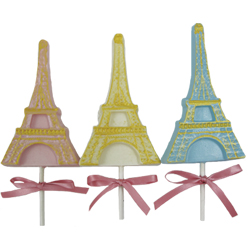 Eiffel Tower Lollipop Chocolate Mold