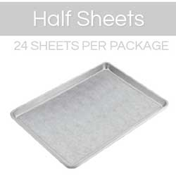 Half Sheet Pre-Cut Parchment Sheet Set