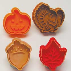 Cookie Stamp & Cutter Autumn Set