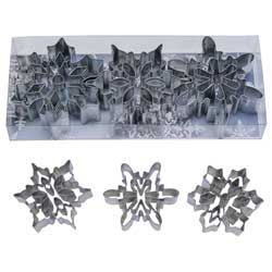 Snowflakes with Cut-Out Cookie Cutter Set
