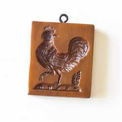 Strutting Rooster Cookie Mold