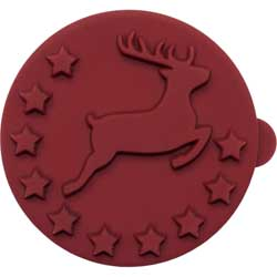 Mini Reindeer Cookie Stamp