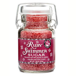 Ruby Shimmer Sugar 7.56 oz.