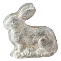 SALE!  Large Bunny Decorative Chocolate Mold
