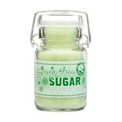Spring Green Sanding Sugar