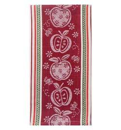 LTD QTY! Apple A Day Jacquard Tea Towel