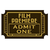 Chocolate Movie Ticket Stub, Set of 5