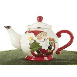 Merry Santa Teapot