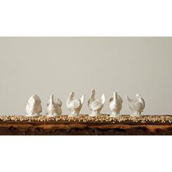 Ceramic Turkeys Set
