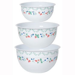 SALE!  Berry Patch Mix & Serve Bowls, Set of 3