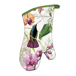 Orchids In Bloom Oven Mitt