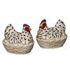 Sitting Hen Salt & Pepper Shakers