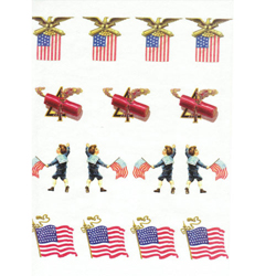 Patriotic Miniatures Wafer Paper