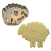 Sheep With Heart Cookie Cutter, Hammer Song