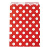 Red Polka Dots Treat Bags, Set of 10