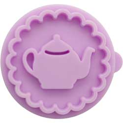 Mini Teapot Cookie Stamp