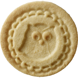 Owl Cookie Stamp, 2.75