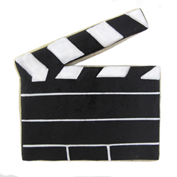 Directors Clapboard Cookie Cutter