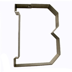 DP!  Varsity Letter B Cookie Cutter