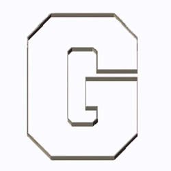 Cookie Cutter Varsity Letter G