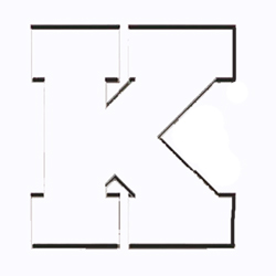 Cookie Cutter Varsity Letter K