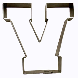 SALE!  Varsity Letter V Cookie Cutter